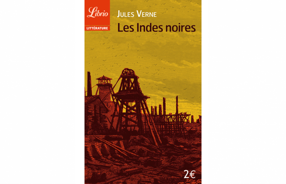 Cover of The Child of the Cavern a novel by Jules Vernes