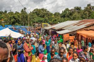 Marketplace in Jimma, Ethiopia