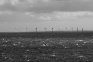 Ten offshore wind turbines have been installed off the coast of Samsø to generate electricity for local consumption or export to the Danish grid.